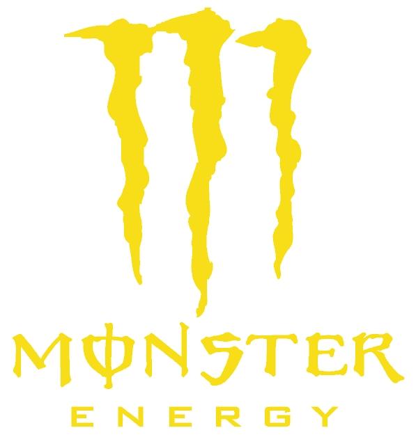 Yellow monster logo